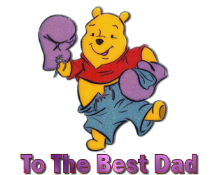 Pooh Dad  Clipart