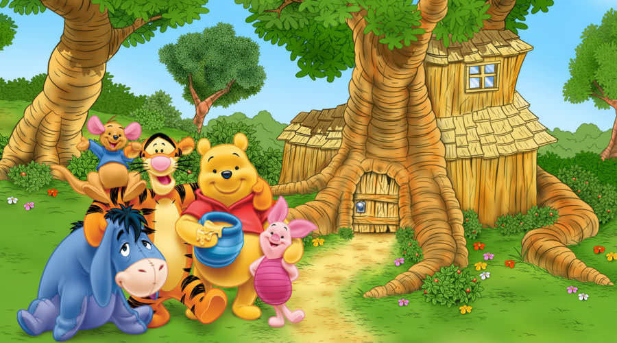 Pooh and Friends Welcome