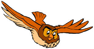 Owl & Gopher Clipart
