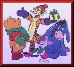 Pooh and Friends Winter Holiday Fun